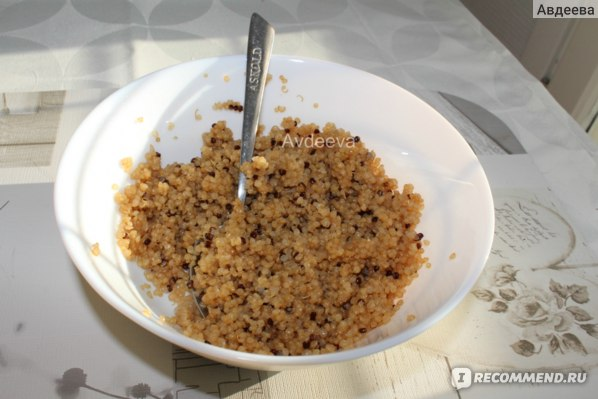 Пример обеда: кус-кус