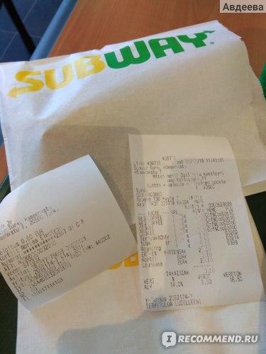 Subway, Сеть ресторанов быстрого питания фото