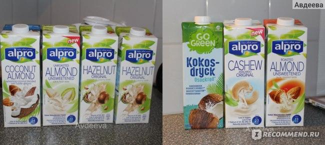 Коровьбе молоко заменила на растительное, которое менее калорийно