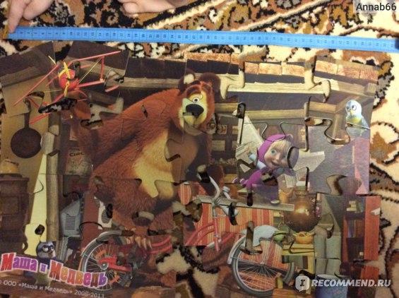 "Step Puzzle MAXI, 24 элемента, ""Маша и Медведь"" (90013) фото"