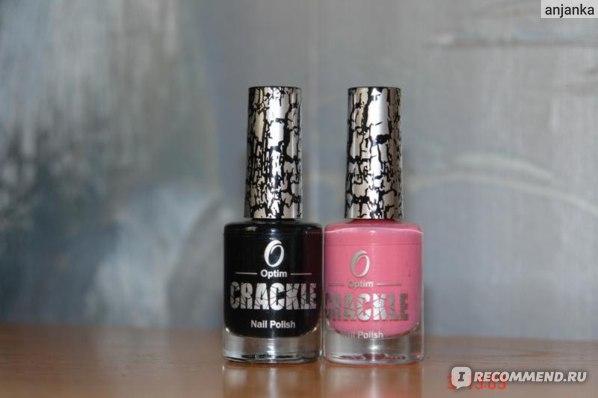 Лак для ногтей Optim crackle фото