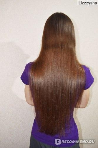 """Волосы после подходящей """"силиконовой"""" маски"""