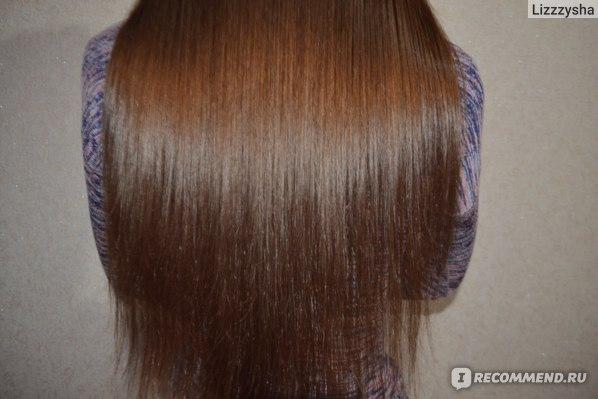 Волосы после концентрата