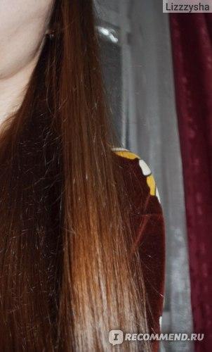 Видно, что волосы пушатся