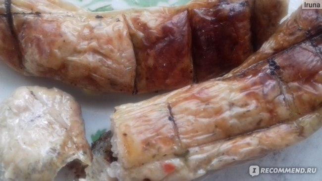 Полуфабрикаты «Мясная Весна» Охлажденные колбаски для гриля «Мюнхенские»  фото