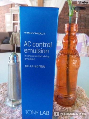 Эмульсия для лица TONY MOLY Lab AC Control Emulsion фото