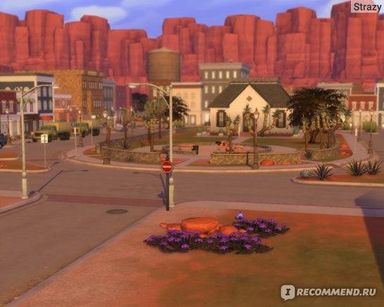 The Sims 4  Стрейнджервиль фото