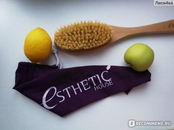 Щётка для тела Esthetic House Dry Massage Brush фото