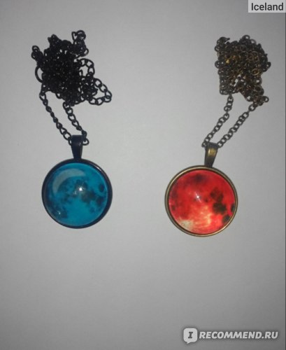 Подвеска Aliexpress Galaxy Moon Pendant Necklace Glass Cabochon Black Statement Chain Necklace Fashion Women Jewelry фото
