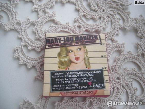 Хайлайтер The Balm Mary-Lou Manizer фото