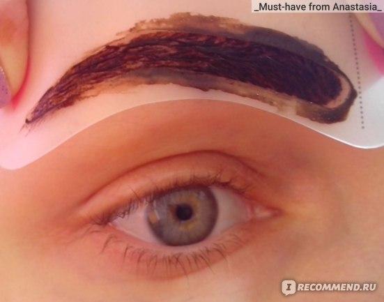 Трафареты для макияжа бровей ETUDE HOUSE Mini brow class drawing guide фото