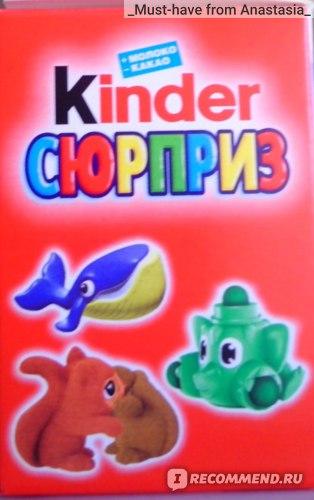 Шоколадное яйцо FERRERO Kinder сюрприз  фото