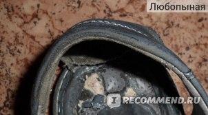 """Подпяточник """"Vitto"""" из овечьей кожи и натурального латекса Pecari Carbon (Германия), Арт.10112, размер 41-43 фото"""