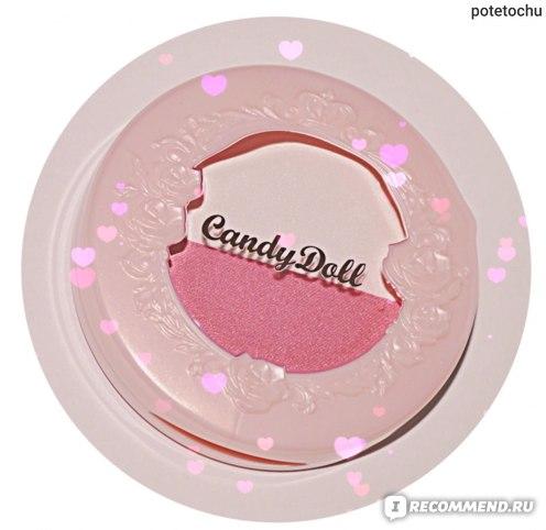 Румяна Candy Doll Cheek Color Duo Pink фото