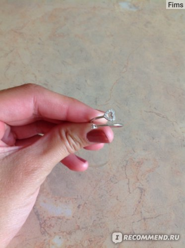 Кольцо серебряное SUNLIGHT BRILLIANT арт 43801 фото