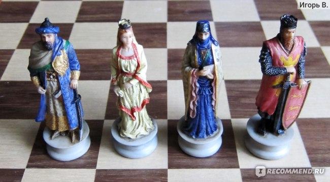 Шахматные ферзи и короли