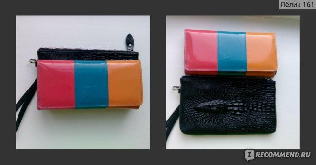 Сумочка - клатч Aliexpress 2014 women handbag Women genuine leather clutch wristlet cosmetic purse crocodile Coin Purse Clutch Evening Bag women wallets фото