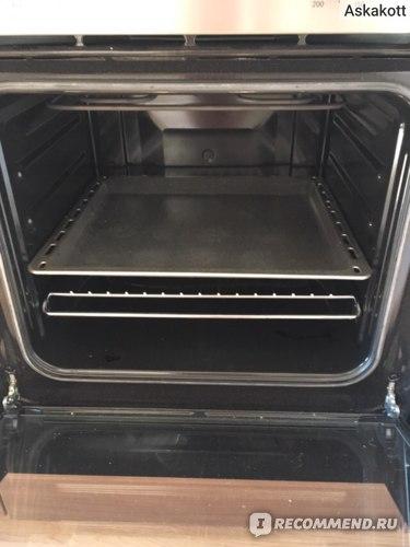 Электрическая духовка для кухни Ikea. Вид внутри.