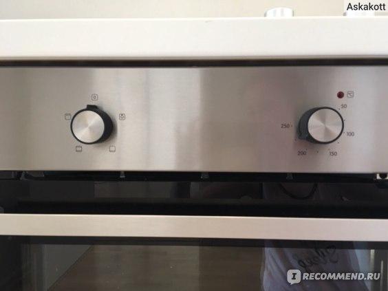 Электрическая духовка для кухни Ikea. Панель приборов.