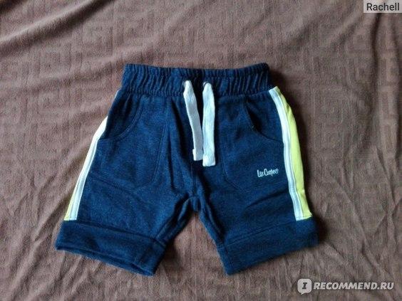 Шорты Sport Direct Lee Cooper Fleece Shorts Kleinkind Boys Артикул №32902422_l р.3/4 фото