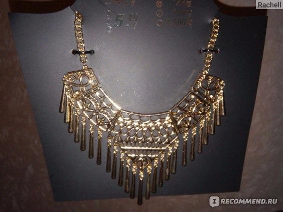 Колье Kiki&Koko Halskette-Ornamente,Tropfen-Gold Артикул №S1025118 фото