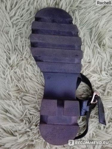 Босоножки Модный остров кожаные Артикул №5501 р.37 фото
