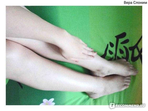 Руки и ноги после эпиляции теплым воском