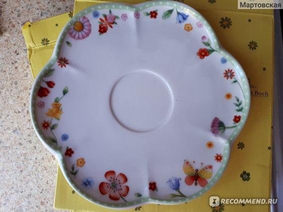 Чашка с блюдцем Villeroy&Bosh Spring Awakening фото