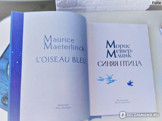 Синяя Птица. Морис Метерлинк фото