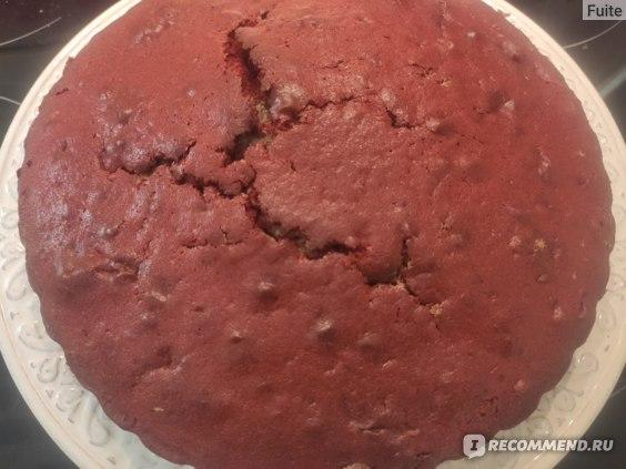 """Смесь для выпечки С.Пудовъ Торт """"Красный бархат""""  400 грамм фото"""