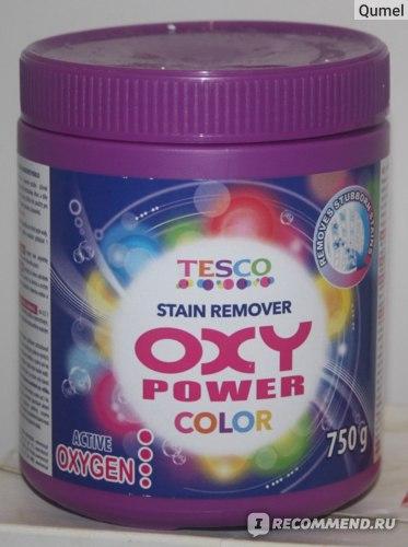 Пятновыводитель Tesco Stain Remover OXY Power Color фото