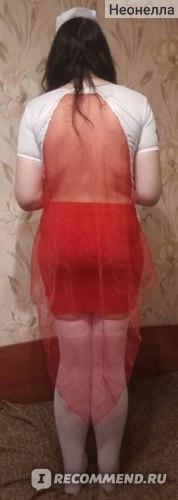 Эротическое белье AliExpress G-string+hat+nurse cloth White V collar Sexy Erotic lingerie nurse uniform costumes women lingerie nightdress sex erotic cosplay  фото