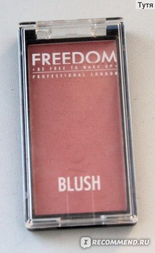 Румяна компактные Freedom Blush  фото