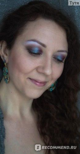 Пигменты для век KM cosmetics Хамелеоны фото
