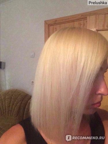 Волосы после маски и ампулы