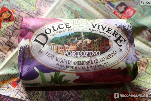 Мыло Nesti Dante Dolce Vivere Portofino фото