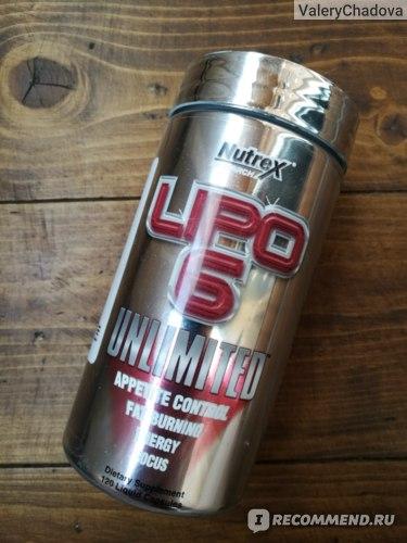 Nutrex Средства для снижения веса Lipo-6 Unlimited фото
