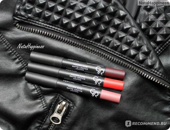 Golden Rose Matte Lipstick Crayon отзывы