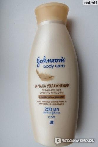 """Лосьон для тела JOHNSON'S body care """"24 часа увлажнения"""" """"Сияние красоты"""" фото"""