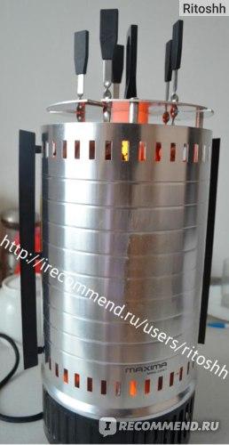 электрошашлычница Maxima MBQ-0251 отзыв с фото
