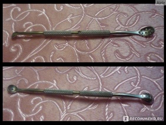 Инструмент для чистки лица и пор Zinger Ложка  фото