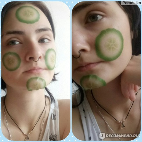 Маска для лица A'PIEU листовая с экстрактом огурца фото