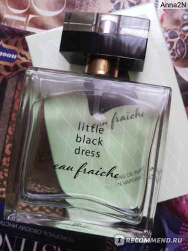 Avon Little black dress eau fraiche фото