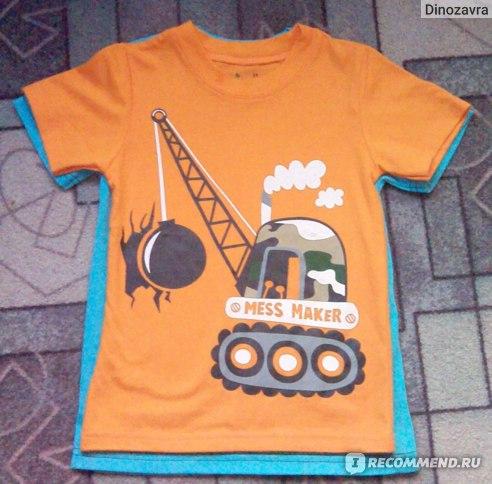Футболка AliExpress Blouse boys t shirt kids clothing 100%cotton childrens clothes Summer short tee Cartoon dinosaur фото