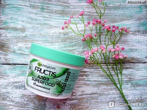 Маска для волос Garnier Fructis Алоэ Superfood Увлажнение: отзывы
