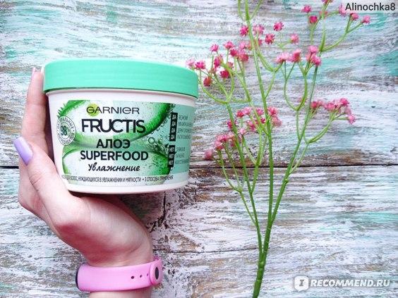 Маска для волос Garnier Fructis Алоэ Superfood Увлажнение