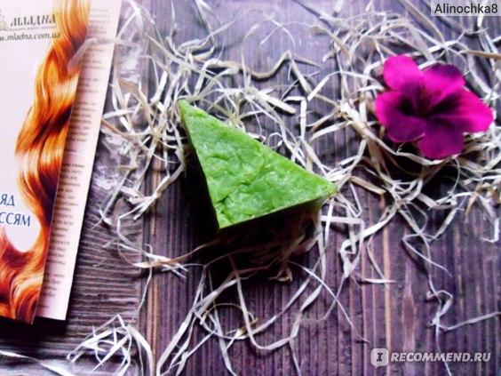 Шампуневое мыло Младна «Лаймовое пробуждение» фото