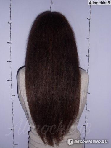 Маска для волос Garnier Fructis Алоэ Superfood Увлажнение: результат на волосах