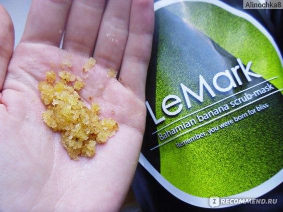 """Скраб для тела LeMark """"Багамский банан"""" фото"""