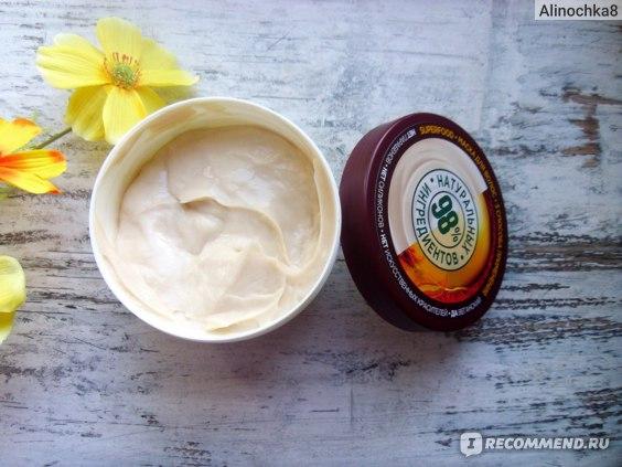 Маска для волос Garnier Fructis Макадамия Superfood Разглаживание фото